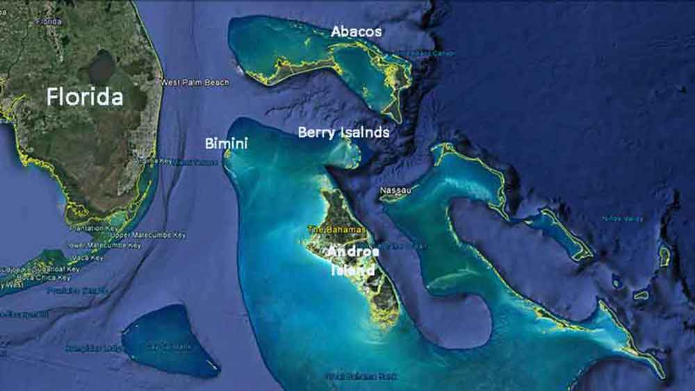 Where Is Andros - Where are the bahamas